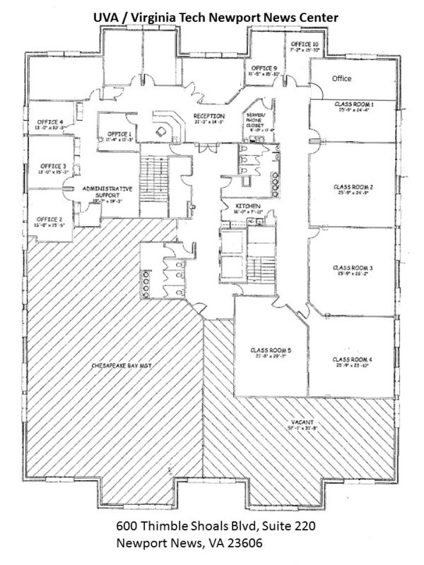 Newport News Floor plan